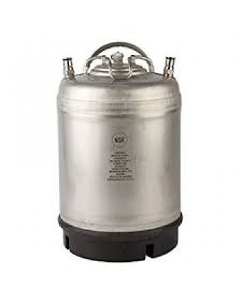 2.5 Gallon Ball Lock Keg with Single Handle AMCYL - new