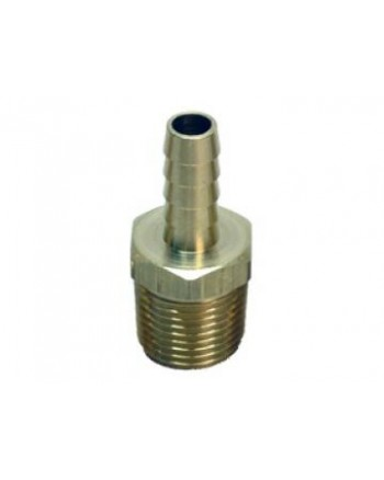 Stainless Steel 1/2'' NPT Male 3/8'' Barb