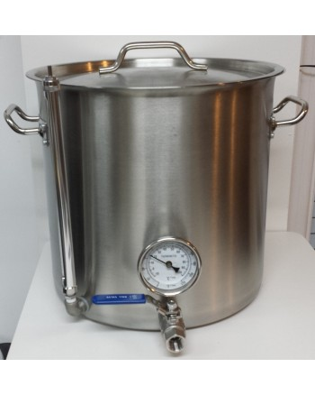 Stainless Steel 8 Gallon Brew Pot Kit