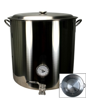 25 Gallon Stainless Steel Weldless Kettle (pot)
