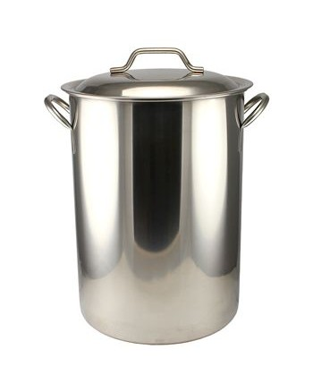 Stainless Steel 16 Gallon Brewpot