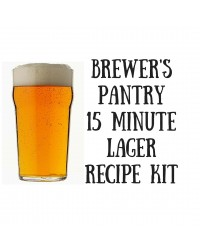 "Brewer's Pantry 15 minute ""Lager"""