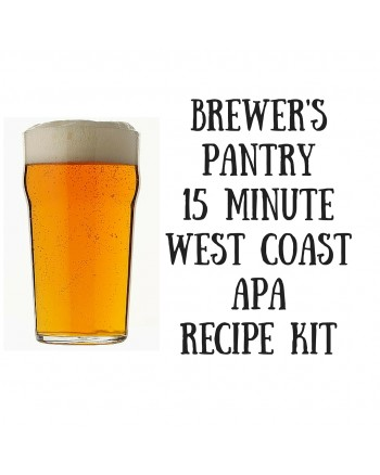 Brewer's Pantry 15 minute West Coast APA