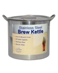 Stainless Steel 10.5 Gallon Brewpot