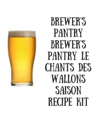 Brewer's Pantry Le Chants Des Wallons Saison - all grain only