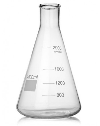 2000ml Erlenmeyer Flask ***SHIP AT OWN RISK***