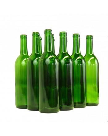 750 ml Green Bordeaux Wine Bottles (case of 12) **SHIP AT OWN RISK**