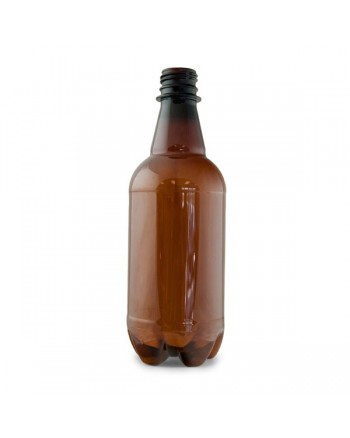 500 ml Amber P.E.T. Bottle (CASE OF 24)