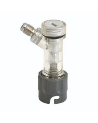 "CM BECKER PIN LOCK GAS CHECK VALVE QUICK DISCONNECT 1 / 4"" MFL"