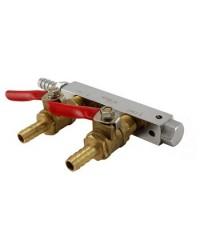 Commercial Grade 4 Way Gas Distributor (Manifold)