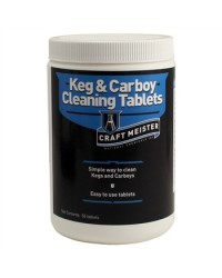 Craft Meister Keg and Carboy Cleaning Tablets - 10 pack