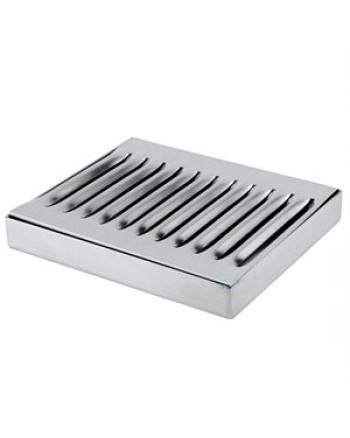 "DRIP TRAY WITHOUT DRAIN 5"" X 6"" SS"