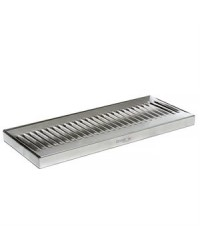 "DRIP TRAY SURFACE WITHOUT DRAIN 12"" X 5"" SS"