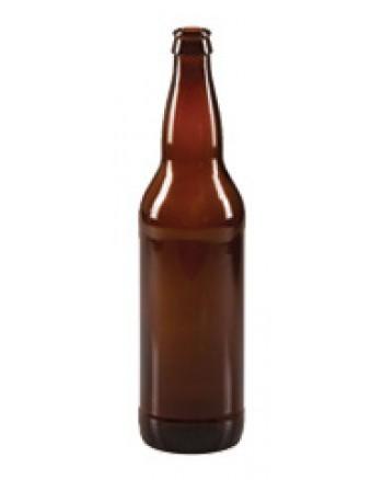 650 mL Glass Bottle (Amber) ***SHIP AT OWN RISK***