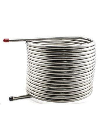 "50' 1/2"" HERMS Coil Stainless Steel"
