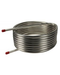 Stainless Steel HERMS Coil - 25' x 1/2""