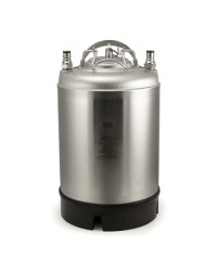 New 2.5 Gallon Ball Lock Keg with Single Handle AMCYL