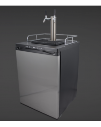 Keg Master 4 - Kegerator (With Double SS Intertap Tower )
