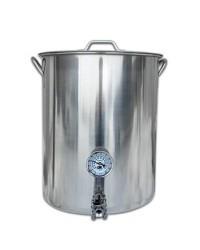Stainless Steel 8 Gallon Brew Pot Kettle
