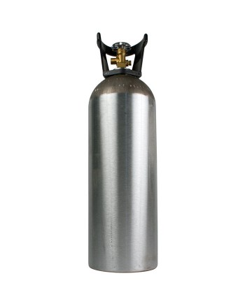 Aluminum CO2 Tanks 5lb - Full Tank for your convenience!