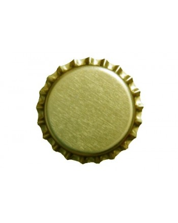 Bottle Caps - Gold