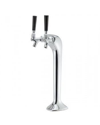 SNAKE DOUBLE BEER TOWER W / TAP & KNOB ***on sale***