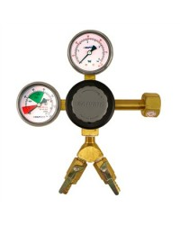 Taprite Primary Dual Product CO2 Regulator (Poly Bonnet, 60PSI & 2000PSI) [T742-2]