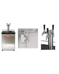 Kegland Series X - Kegerator With Triple SS Intertap Tower