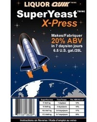 LIQUOR QUIK SuperYeast X-press, 135g - turbo