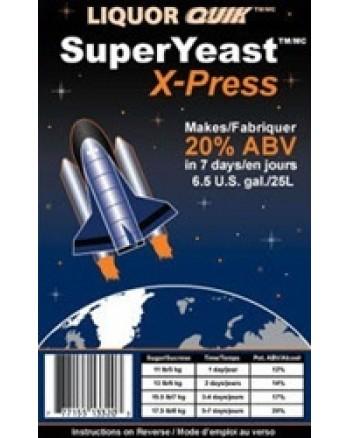LIQUOR QUIK SuperYeast X-press, 135g - turbo